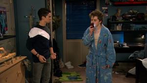 Season 1, Episode 3 - Wendell kissing phone