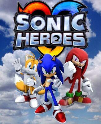 Sonic Heroes 2 Box Art by Shibalove