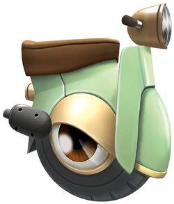 Wheeliescooter