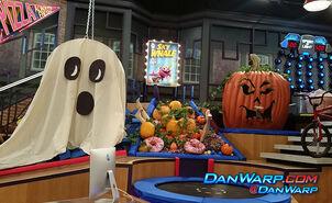 Game shakers halloween building