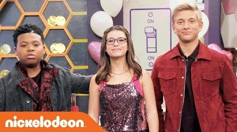 Valentine's Day Slow Jams 💖 Pickup Lines w Benji, Madisyn & Thomas! Game Shakers Nick