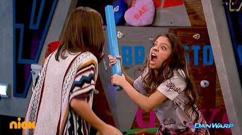 "Babe Attacks Trip Spy Games ""Game Shakers"" Dan Schneider"