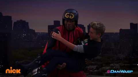 """Save Hudson! """"Game Shakers"""" """"Wing Suits & Rocket Boots"""" Dan Schneider"""