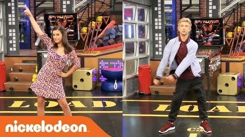 Thomas Kuc & Maddie Shipman🕺💃 Game Shakers EPIC Dance Battle!! Nick