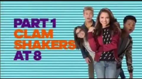 """Clam Shakers"" Part 1 Official Trailer HD Game Shakers"