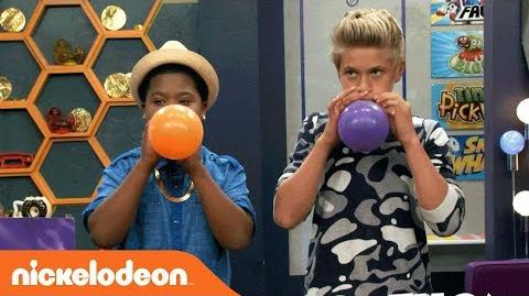 Benji vs. Thomas in the Balloon Challenge🎈 Game Shakers Nick