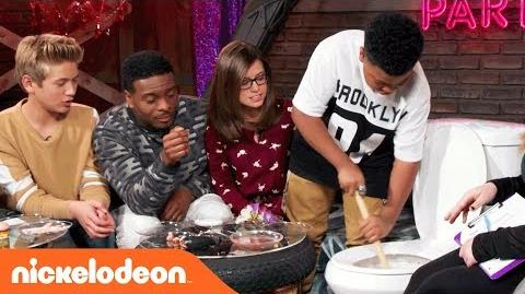 Game Shakers The After Party War and Peach Nick