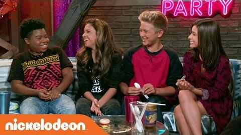 Game Shakers The After Party Babe's Bench Nick