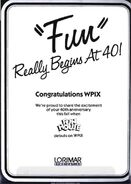 Fun Really Begins at 40 1988-04-04