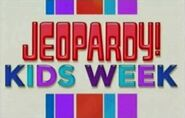 Jeopardy! Season 28 Kids Week Title Card