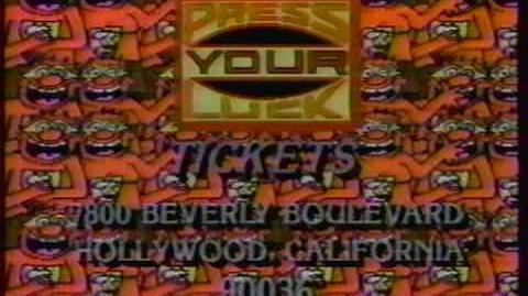 PYL Ticket Plug 1986
