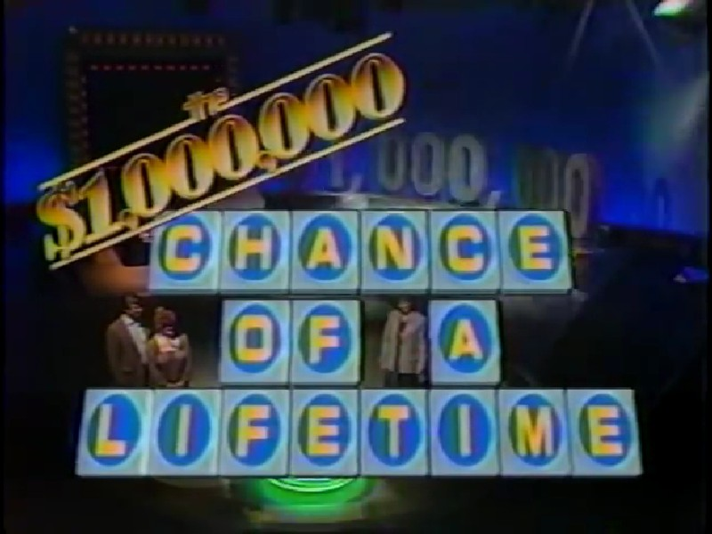 The Chance of a Lifetime