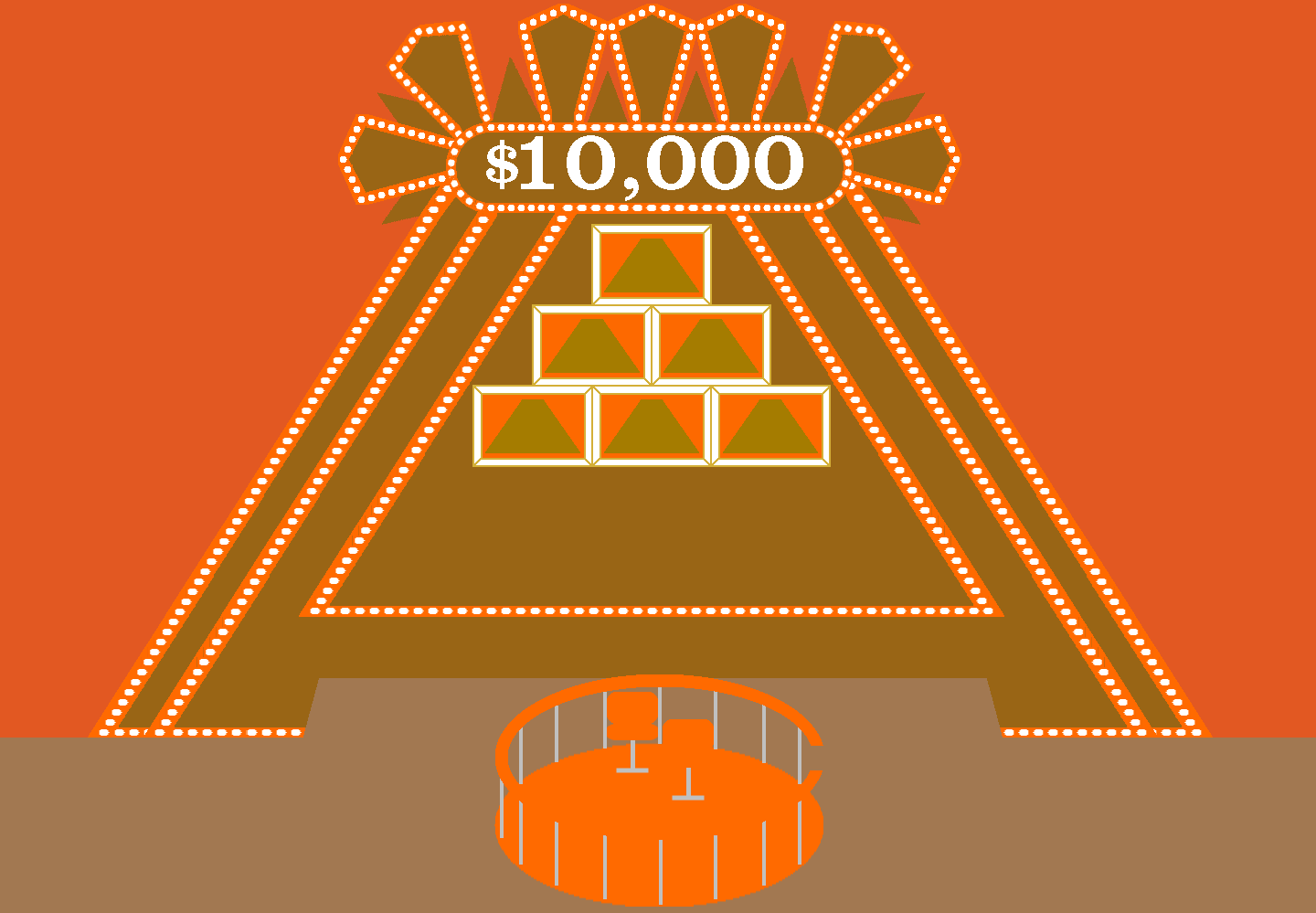 Image - The 10 000 pyramid by mrentertainment-d5zej47.png | Game ...