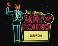 3rd Annual Lost and Found Saturday