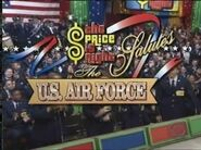 The Price is Right Salutes The U.S. Air Force