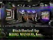 J! King World logo - 1983