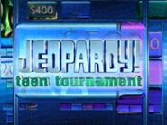 Jeopardy! Season 21 Teen TournamentTitle Card