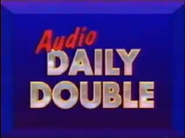 Audio Daily Double -1