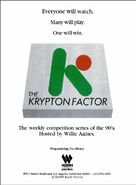 The Krypton Factor '90 ad