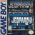 Jeopardy! Platinum Edition Game Boy