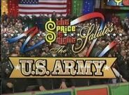 The Price is Right Salutes The U.S. Army