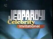 Jeopardy! Season 14 Celebrity Invitional Title Card