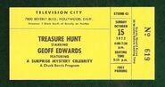 Treasure Hunt Pilot Ticket