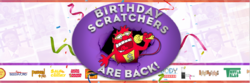 Birthda Scratchers Are Back!