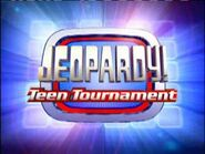 Jeopardy! Season 19 Teen Tournament Title Card