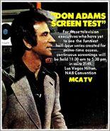 Don Adam's Screen Test 1975-3-31
