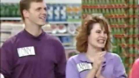Supermarket Sweep of Champions (1991) Day 5 Maureen & Karin vs. Jamie & Tony vs