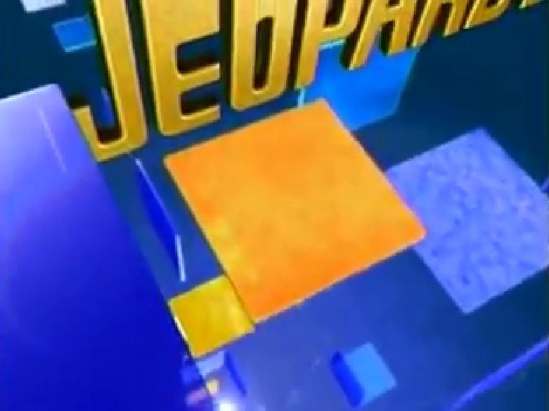 Celebrity jeopardy logo game