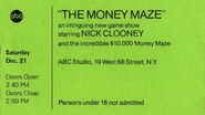 Moneymaze Ticket