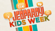 Jeopardy! Season 27 Kids Week Title Card