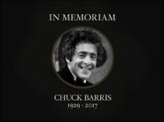 In Memorium Chuck Barris 1929-2017