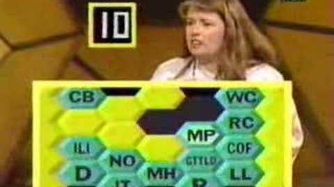 Blockbusters Game Show Bonus Round - 1987