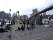 Fat March Taping in New York City