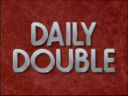 Jeopardy! 1991 Daily Double title card