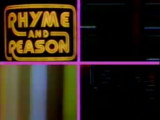 Rhyme and Reason title