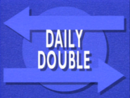 Jeopardy! Season 7 Daily Double blue title card