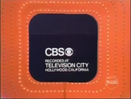 CBS-TV MG'73 Mistake