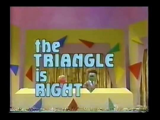 Sesame Street - The Triangle Is Right