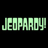 Jeopardy! Logo In Mint Green