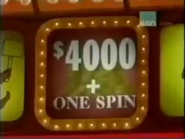 $4000+One Spin Reddish