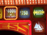 Go Back to Space to $4000 + One Spin