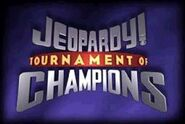 Jeopardy! Season 14-15 Tournament of Champions Title Card