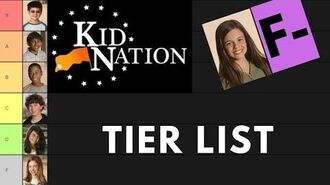 Kid Nation Tier List