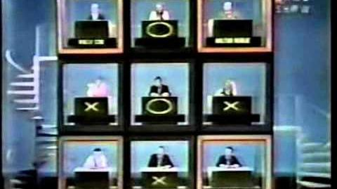 Hollywood Squares (1968) Loretta vs Dean Part 1