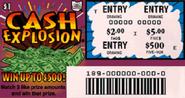 T cash explosion 189