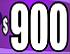 $900 purple